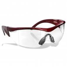 Rugged Blue Navigator Safety Glasses Clear