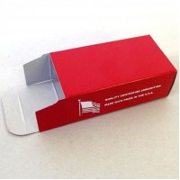 Top Brass 50 Round Red Ammo Box #03 5 pack