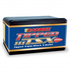 .243 Caliber 80 Grain Spitzer Boat Tail Barnes Tipped Triple-Shock X Bullets