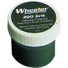 Wheeler Engineering Replacement 220 grit lapping compound - 1 oz. jar